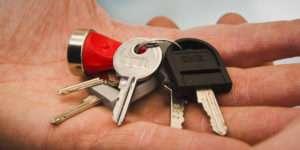 mazzo con chiavi omr di vari tipi